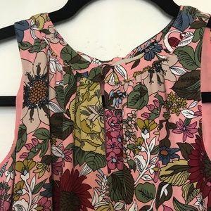 Ann Taylor Loft Floral Shift Dress XXSP